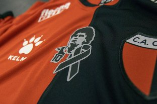 Colón homenajeará a Maradona en su camiseta
