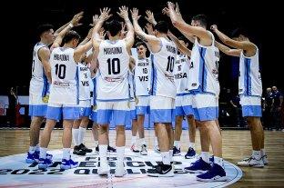 La Selección Argentina de básquet homenajeó a Diego Maradona