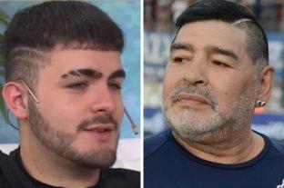 Santiago Lara quiere saber si Maradona es su padre y  pidió la exhumación del cuerpo   - ¿Se parecen? el joven platense asegura que su madre le confesó que era hijo del astro antes de fallecer por una pulmonía.