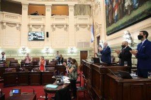 El socialismo se siente agraviado por Puyol   - El pleno de la Cámara de DIputados rindió un aplauso en memoria de Maradona.    -