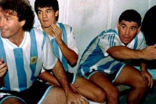 """El """"Burrito"""" Ortega expresó su cariño por Maradona: """"A Diego lo amo, tuvo mucha humildad conmigo"""""""