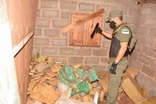 Misiones: secuestraron más de 600 kilos de marihuana en una vivienda