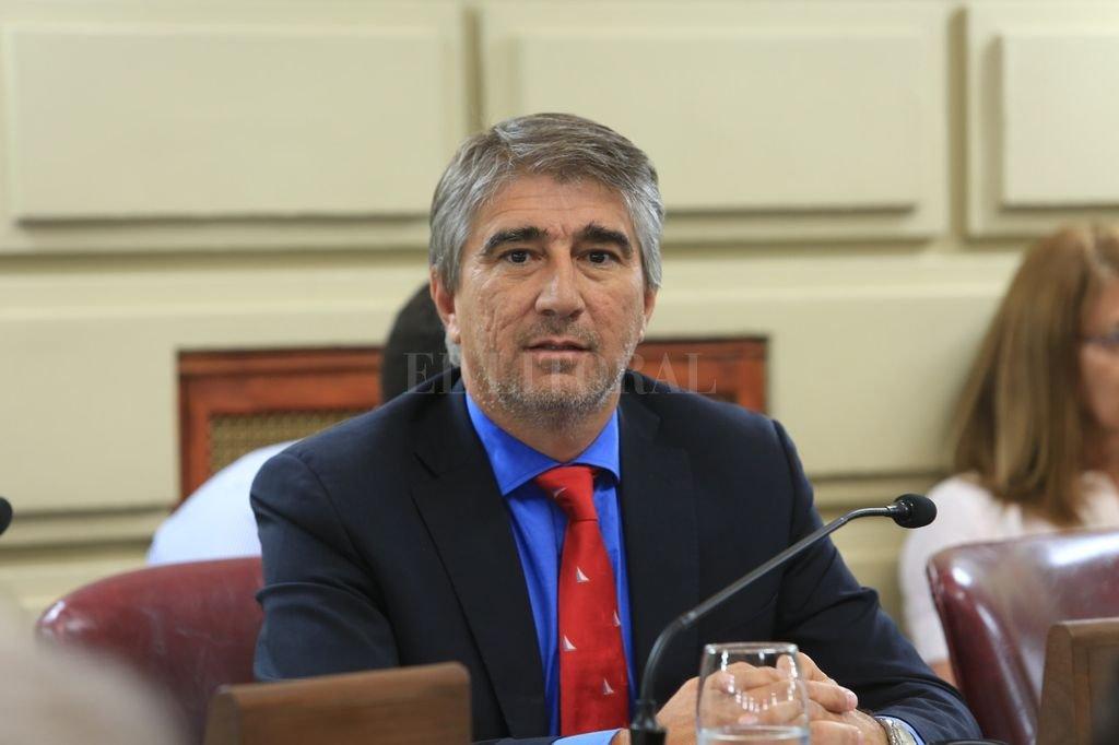 Fabián Bastia, titular de la Comisión de Presupuesto y Hacienda Crédito: El Litoral