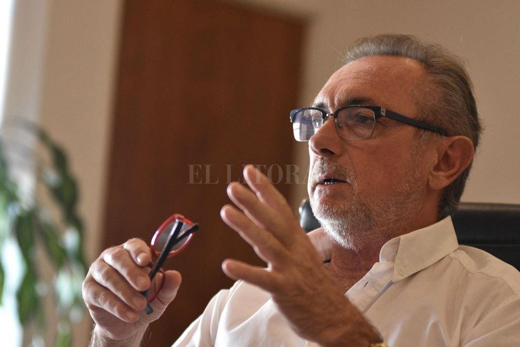 Daniel Costamagna, Ministerio de Producción, Ciencia y Tecnología Crédito: Pablo Aguirre /Archivo El Litoral
