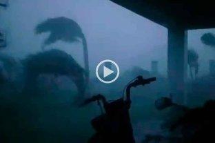 Video: fuerte temporal provocó serios destrozos en el noreste provincial -