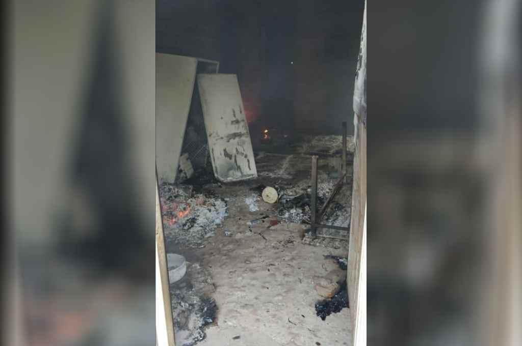 Los inmuebles atacados resultaron con daños de magnitud.    Crédito: El Litoral