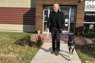 Joe Biden tuvo un accidente familiar y se fracturó el pie mientras jugaba con su perro