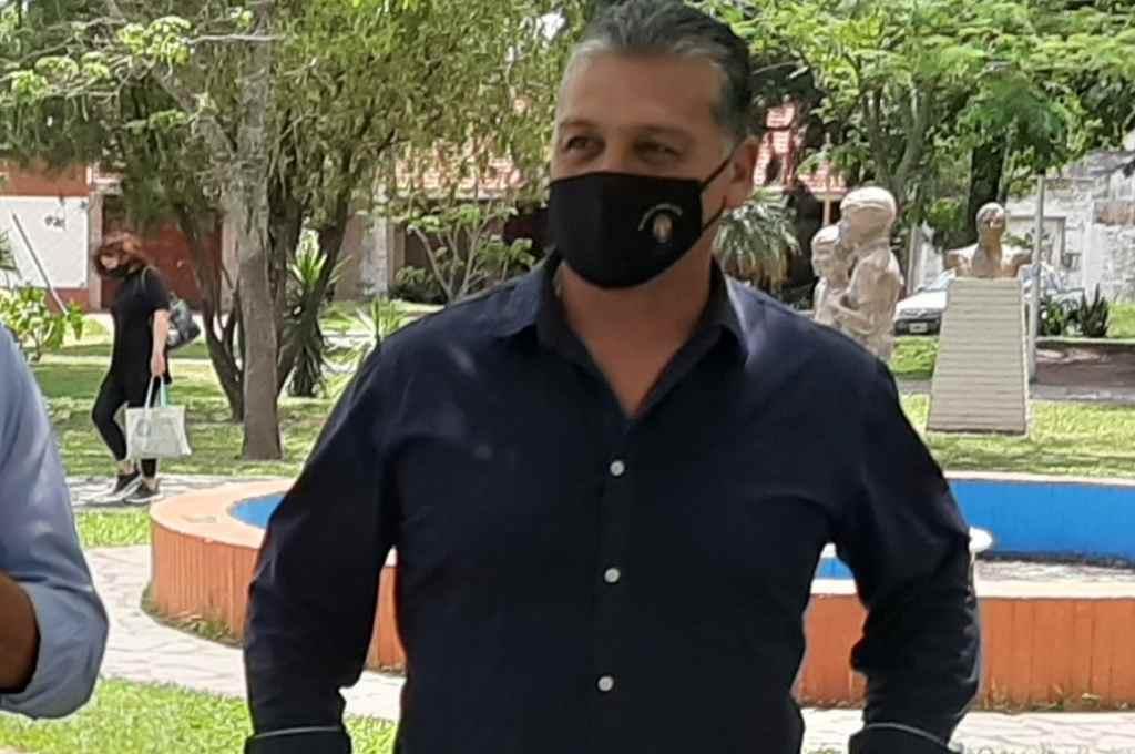 Pedro Damián Uliambre, presidente de la Comuna de Sauce Viejo.    Crédito: Gentileza