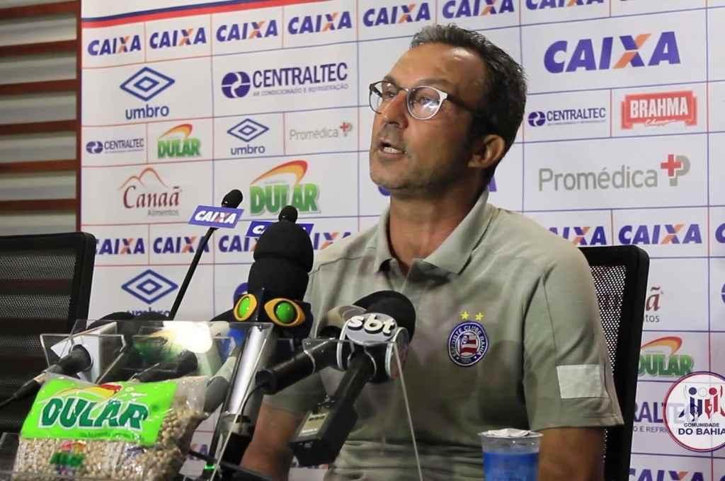 Claudio Prátes, el hombre que está al frente del Bahía en contínuo contacto con Menezes, que se recupera del Covid.   Crédito: Gentileza Correio do Bahía
