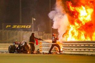 Fórmula 1: iniciaron una investigación por el accidente del piloto Grosjean en Bahrein