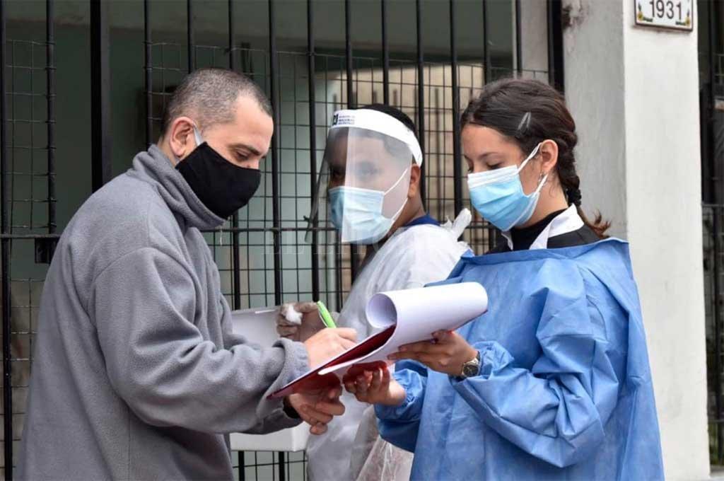 Santa Fe entre las provincias que más contagios reportaron: la capital más del doble que Rosario -  -