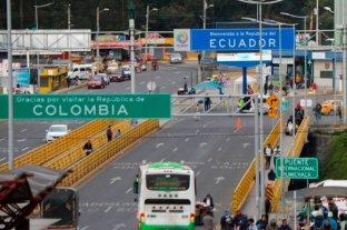 Colombia extiende un mes el cierre de las fronteras