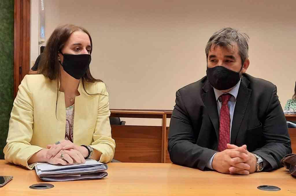 """""""Entendemos que lo resuelto por el tribunal se acerca a nuestro pedido y se ajusta a los hechos por los que Durán resultó condenado"""", dijeron los fiscales Ferraro y Marchi. Crédito: Prensa MPA"""