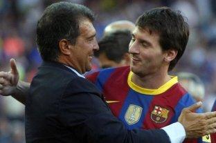 """""""Messi le dará una oportunidad al Barcelona"""", confió Laporta, precandidato a presidente"""