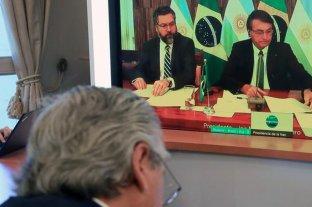 """Alberto Fernández se reunió con Jair Bolsonaro y le pidió """"concentrarse en impulsar el Mercosur"""""""