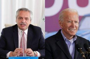 Alberto Fernández dialogó por teléfono con Joe Biden