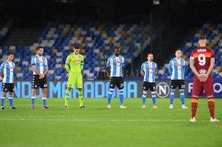 Nápoli despidió a Diego como se merece