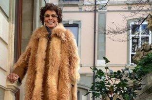 """Sophia Loren se sumó a la tendencia de las pieles """"veganas"""" con un impresionante tapado de Stella McCartney"""