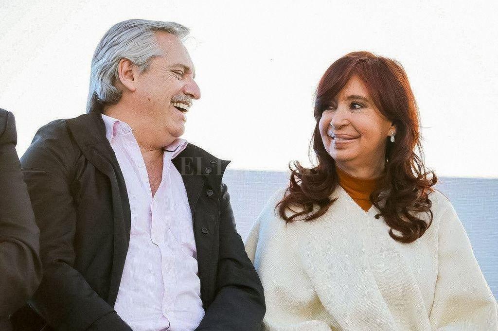 Alberto y Cristina Fernández. Crédito: Archivo El Litoral