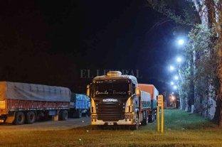 Matilde: las obras en la playa de estacionamiento para camiones ingresan en la última etapa