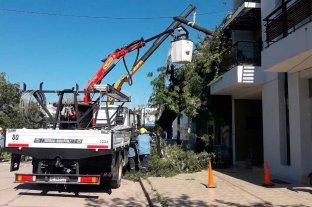 Operarios de la EPE trabajaron al límite para restablecer el servicio en Vera