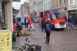 Alemania: al menos dos muertos y varios heridos en un atropello múltiple en Tréveris