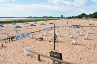 La ciudad habilitó sus playas: habrá círculos sobre la arena  -  -