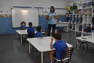 El Centro Educativo Jerárquicos retornó a las clases presenciales