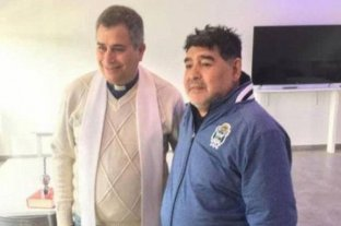 Un cura reveló las últimas confesiones que le hizo Maradona -