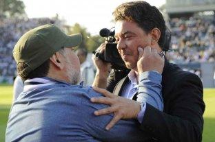 """Gallardo, sobre Maradona: """"Ese hombre llenó de sueños mi almohada"""""""