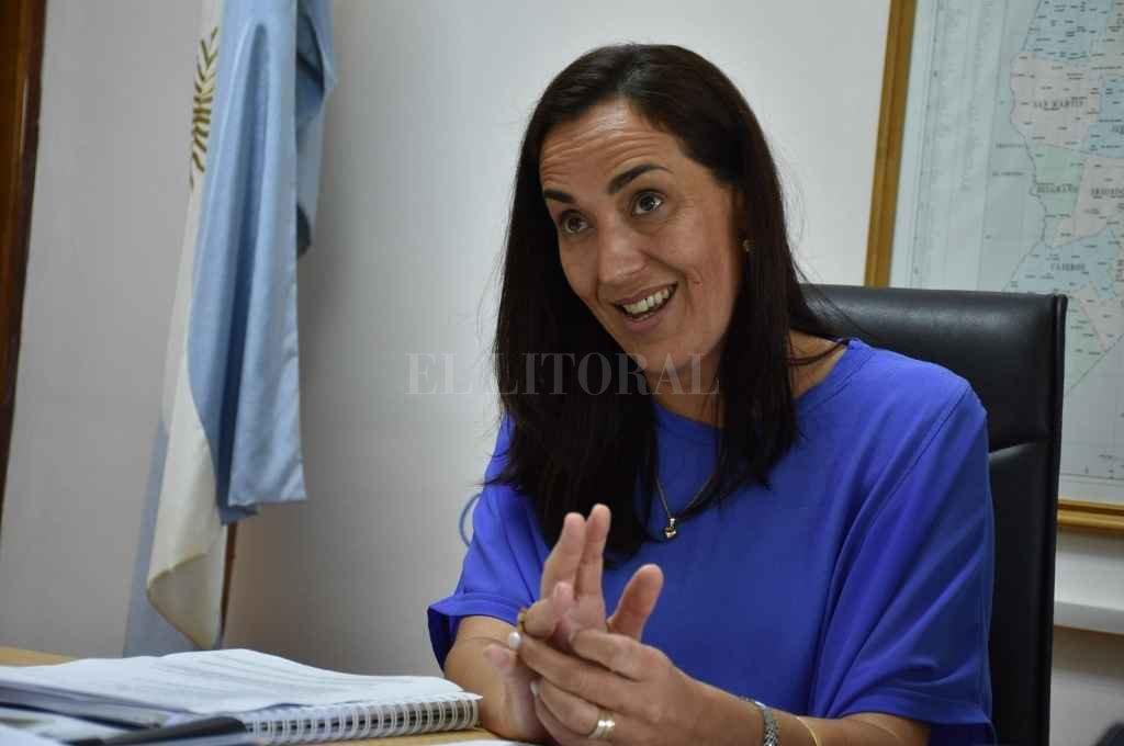 Gonnet, la ministra que tendrá a su cargo la aplicación de la norma sobre Cambio Climático   Crédito: El Litoral