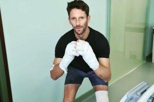 Fórmula 1: tras el impactante accidente, Grosjean recibió el alta médica