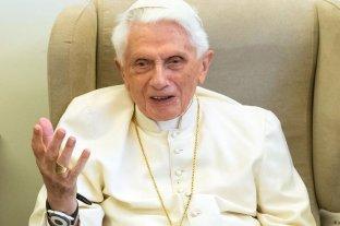 Revelan que Benedicto XVI tiene dificultades para hablar