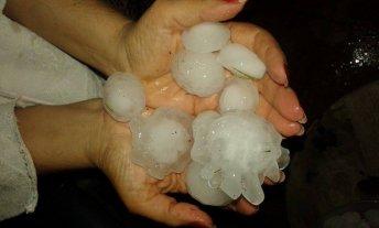 Una fuerte tormenta con granizo afectó a la provincia de Mendoza