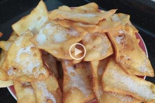 """Especial para días de lluvia: cómo se hacen los """"jrujles"""", la torta frita de los valesanos"""