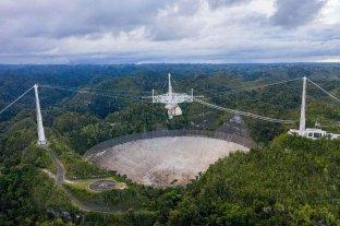 Puerto Rico: malestar por el derrumbe del radiotelescopio de Arecibo