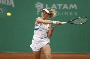 La rosarina Podoroska forma parte de la nueva imagen de la WTA