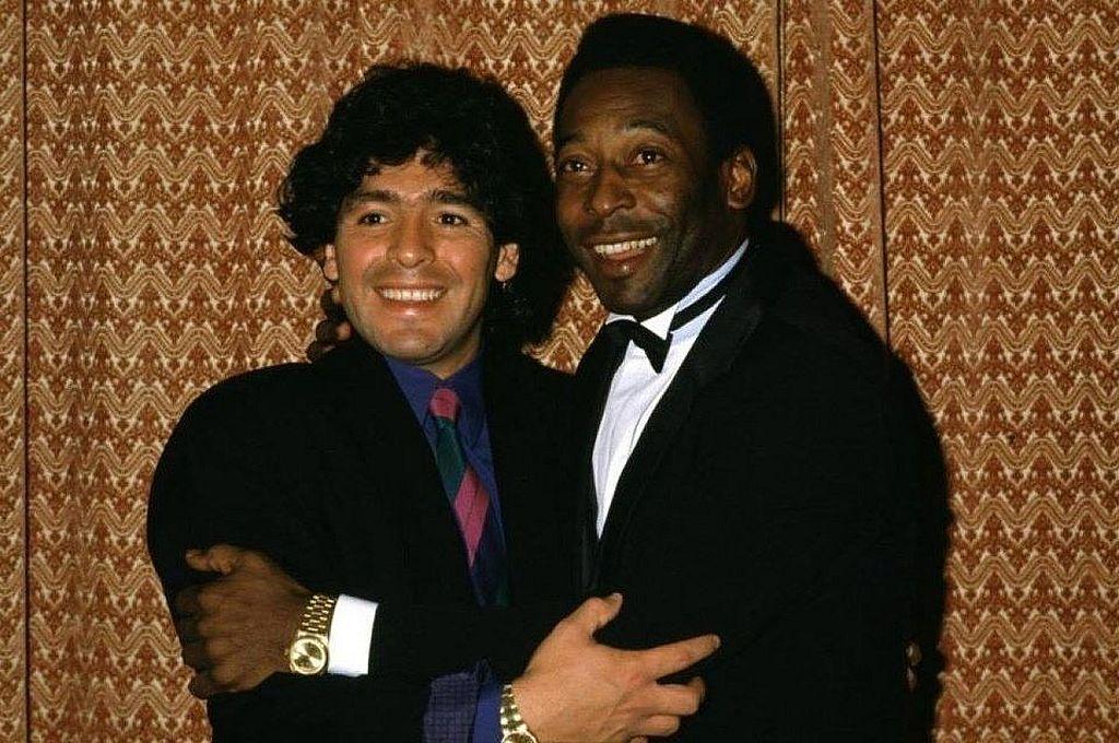 Pelé, sin consuelo por la muerte de Maradona: \