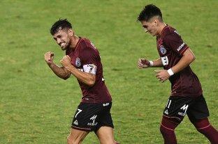 Lanús goleó a Bolivar y clasificó a cuartos de final de la Copa Sudamericana