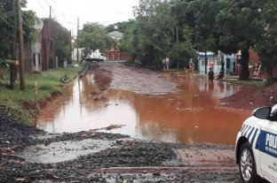 Un fuerte temporal de viento y lluvia afectó a la provincia de Misiones