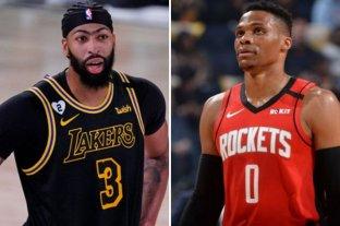 NBA: Davis se queda en los Lakers y Westbrook es traspasado a los Wizards