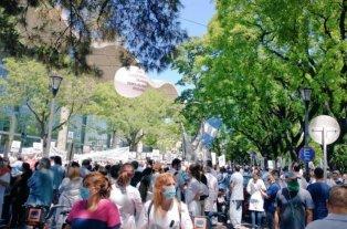 Falleció un jefe médico en medio de una protesta de profesionales de la salud en la ciudad de Buenos Aires