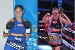 Las argentinas Daniela Bermúdez y Cintia Castillo pelean por el título supergallo FIB