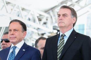 Tensión entre Bolsonaro y el gobernador de San Pablo por la vacunación contra el coronavirus