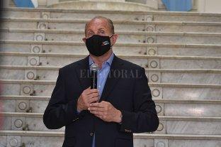 El gobernador Omar Perotti tiene coronavirus