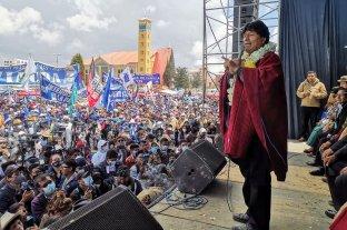 Evo Morales regresó a La Paz más de un año después de su salida del gobierno de Bolivia