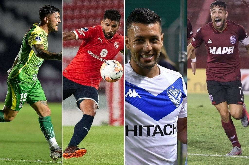 Los 4 equipos argentinos clasificados Crédito: Archivo