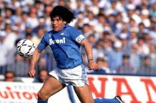 """El estadio del Nápoles se llamará """"Diego Maradona"""""""