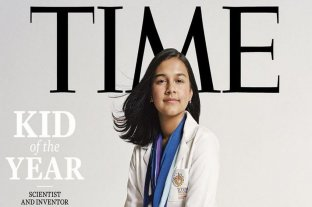 "Gitanjali Rao se convierte en la primera ""Niña del Año"" de la revista Time"