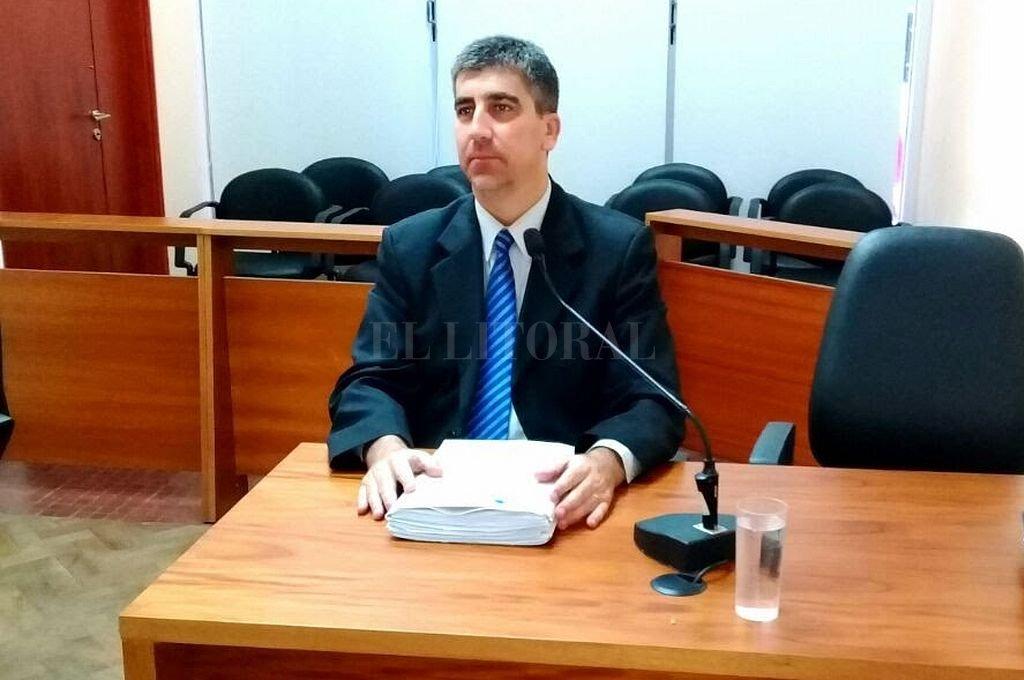 Fiscal Carlos Vottero. Crédito: Archivo El Litoral